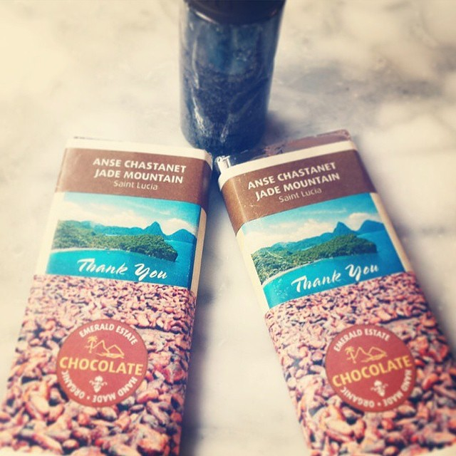 We can't think of a better souvenir! #StLucia #luxury #travel #AnseChastanet #chocolate #regram @guardialost