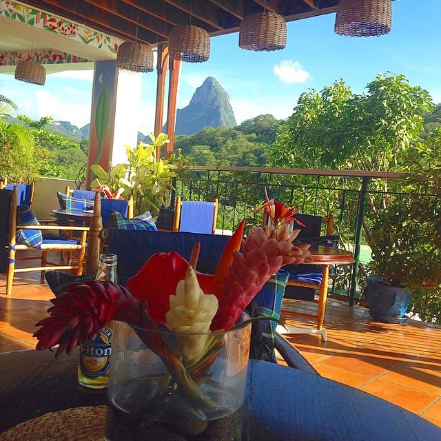 Hello #paradise! #ansechastanet #stlucia #luxury #travel #bliss #beauty #regram @katheryne_rister