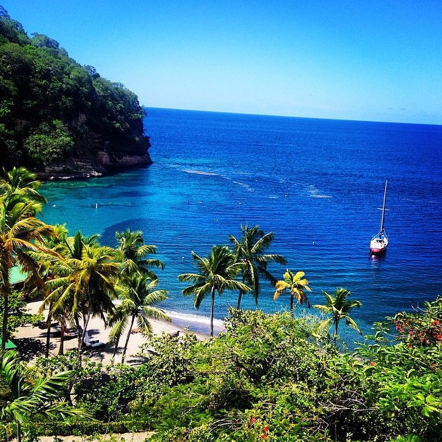At #AnseChastanet our guests experience the most luxurious accommodations with #stunning views! #regram @toddmicheal #StLucia #luxury #travel #vacation