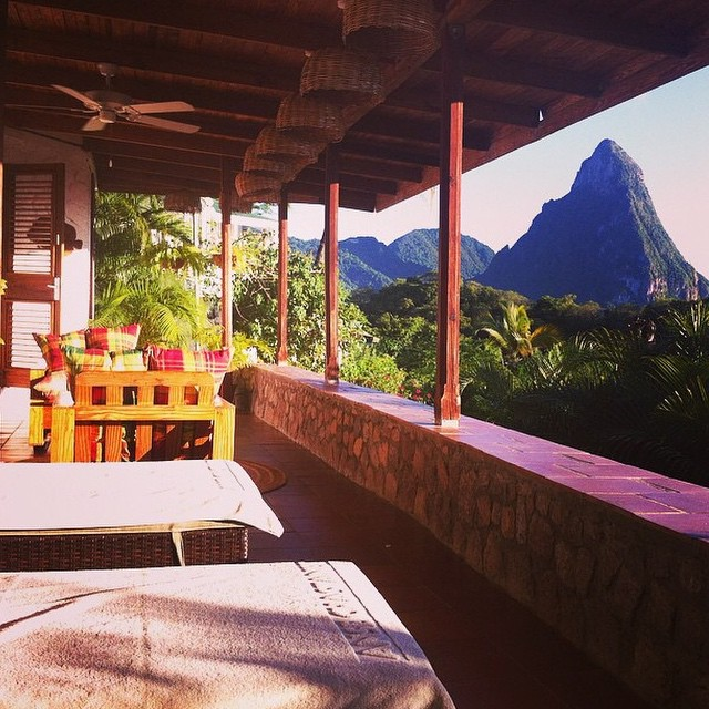 Thank you for sharing this #stunning photo from your stay at #AnseChastanet, @trish1918! #luxury #travel #beauty #pitons #StLucia #island #views