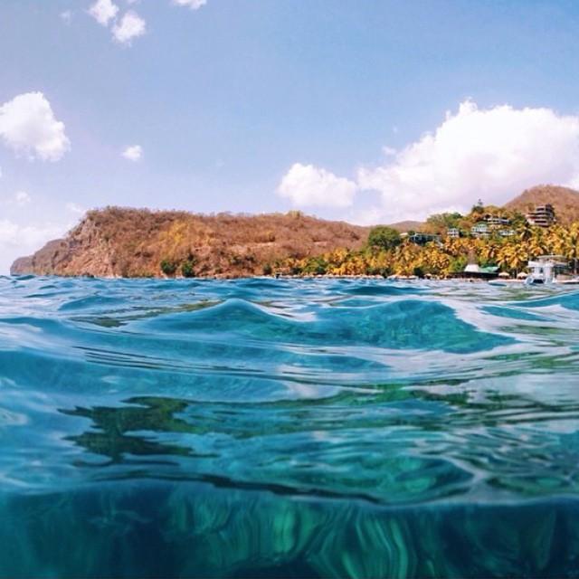 A different perspective of fun in the sun! #underwater #snorkeling #swim #caribbean #travel #ocean #sea #ansechastanet #resort #regram @bcrawfordphoto